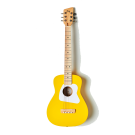 Loog Pro IV Acoustic Guitar Yellow - Great for Kids