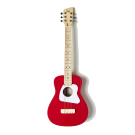 Loog Pro IV Acoustic Guitar Red - Great for Kids