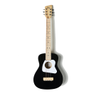 Loog Pro IV Acoustic Guitar Black - Great for Kids