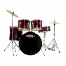 "Mapex Prodigy 5 Pce 20"" Starter Drum Package in Dark Red"