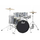 "Pearl Roadshow-X 20"" Fusion Drum Kit Package in Charcoal Metallic"