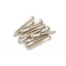 Fender (Parts) - Vintage-Style Stratocaster Bridge Mounting Screws (12) (Phillips head) (Nickel)