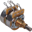 Fender (Parts) - Concentric 250K/500K Audio Solid Shaft Potentiometer, (Volume and Tone)