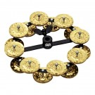 Meinl Hi Hat Tambourine Double Row Brass