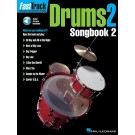 FastTrack Drums Songbook 2 - Level 2 -  Various   (Drums) FastTrack Music Instruction - Hal Leonard. Sftcvr/Online Audio Book