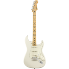 Fender Player Stratocaster with Maple Fingerboard in Polar White
