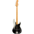 Fender Player Plus Precision Bass, Maple Fingerboard, Silver Smoke with Gig Bag
