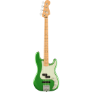 Fender Player Plus Precision Bass, Maple Fingerboard, Cosmic Jade with Gig Bag