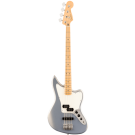 Fender Player Jaguar Bass with Maple Fingerboard in Silver