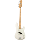 Fender Player Precision Bass with Maple Fingerboard in Polar White