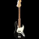 Fender Player Jazz Bass Guitar in Black (PF Fingerboard)