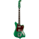 Fender Parallel Universe Volume II Maverick Dorado with Ebony Fingerboard in Mystic Pine Green
