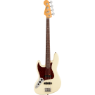 Fender American Professional II Jazz Bass Left-Hand, Rosewood Fingerboard, Olympic White (B STOCK)
