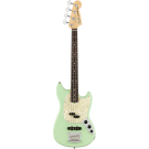 Fender American Performer Mustang Bass in Satin Surf Green