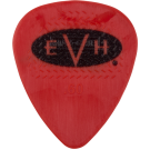 EVH Guitar Picks -  Red/Black .60 mm 6 Count