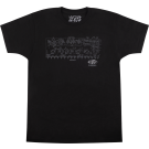 EVH Schematic T-Shirt, Black, M
