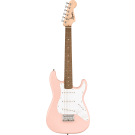 Squier Mini Stratocaster, With Laurel Fingerboard, In Shell Pink