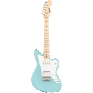 Squier Mini Jazzmaster HH, With Maple Fingerboard, In Daphne Blue