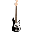 Squier Mini P Bass, With Laurel Fingerboard, In Black