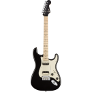 Squier − Contemporary Stratocaster HH, Maple Fingerboard, Black Metallic