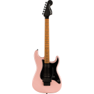 Squier Contemporary Stratocaster HH FR, Roasted Maple Fingerboard, Black Pickguard, Shell Pink Pearl