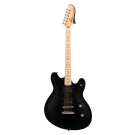 Fender Contemporary Active Starcaster with Maple Fingerboard in Flat Black (B STOCK)