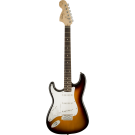 Squier Affinity Series™ Stratocaster, Left-Handed, Laurel Fingerboard, Brown Sunburst