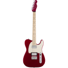 Squier − Contemporary Telecaster HH, Maple Fingerboard, Dark Metallic Red
