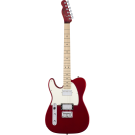 Squier − Contemporary Telecaster HH Left-Handed, Maple Fingerboard, Dark Metallic Red (LH)