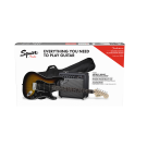 Squier Affinity Series Stratocaster HSS Electric Guitar Starter Pack - Brown Sunburst