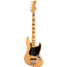 Squier Classic Vibe '70s Jazz Bass V with Maple Fingerboard in Natural