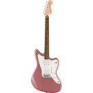 Squier Affinity Series Jazzmaster With Laurel Fingerboard With White Pickguard In Burgandy Mist