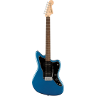 Squier Affinity Series Jazzmaster With Laurel Fingerboard With Black Pickguard In Lake Placid Blue