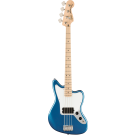 Squier Affinity Series™ Jaguar Bass H, Maple Fingerboard, White Pickguard, Lake Placid Blue