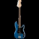 Squier Affinity Series Precision Bass PJ Laurel Fingerboard Black Pickguard In Lake Placid Blue
