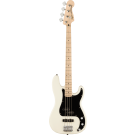 Squier Affinity Series Precision Bass PJ Laurel Fingerboard Black Pickguard In Olympic White