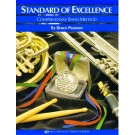 Standard of Excellence Enhanced Bk 2 Drums/Mallets -    Bruce Pearson (Drums|Tuned Percussion)  - Neil A. Kjos Music Company. Softcover/CD Book
