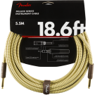 Fender - Deluxe Series Instrument Cable - Straight/Straight - 18.6' - Tweed