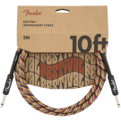 Fender - 10' Festival Instrument Cable - Pure Hemp - Rainbow