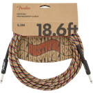 Fender - 18.6' Festival Instrument Cable - Pure Hemp - Rainbow