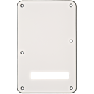 Fender (Parts) - Backplate, Stratocaster, White (W/B/W), 3-Ply