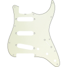 Fender (Parts) - Pickguard, Stratocaster S/S/S, 11-Hole Vintage Mount (with Truss Rod Notch), Mint Green, 3-Ply