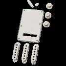 Fender (Parts) - Accessory Kit, Stratocaster, Parchment