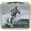 "Fender Lunchbox - ""You Won't Part With Yours Either"" with Strings - Winder - Picks and Electronic Tuner"