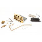 Fender (Parts) - American Series Stratocaster ('86-'07) Tremolo Bridge Assembly (Gold)