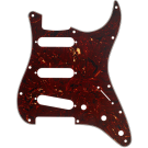 Fender (Parts) - Pickguard, Stratocaster S/S/S, 11-Hole Mount, Tortoise Shell, 4-Ply