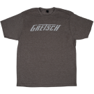Gretsch Logo T-Shirt, Heather Gray, L