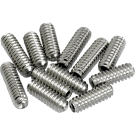 Fender (Parts) - American Vintage Stratocaster/Telecaster Bridge Saddle Height Adjustment Screws (12) (Nickel)