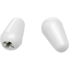 Fender (Parts) - Stratocaster Switch Tips, White (2)
