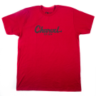 Charvel Toothpaste Logo Men's T-Shirt, Red, L